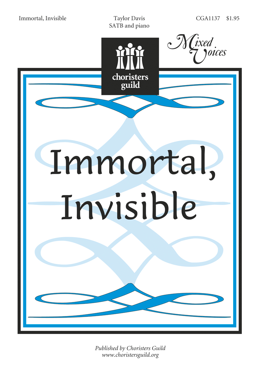 Immortal, Invisible (Accompaniment Track)
