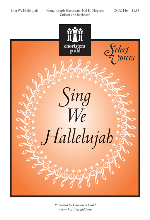 Sing We Hallelujah (Accompaniment Track)