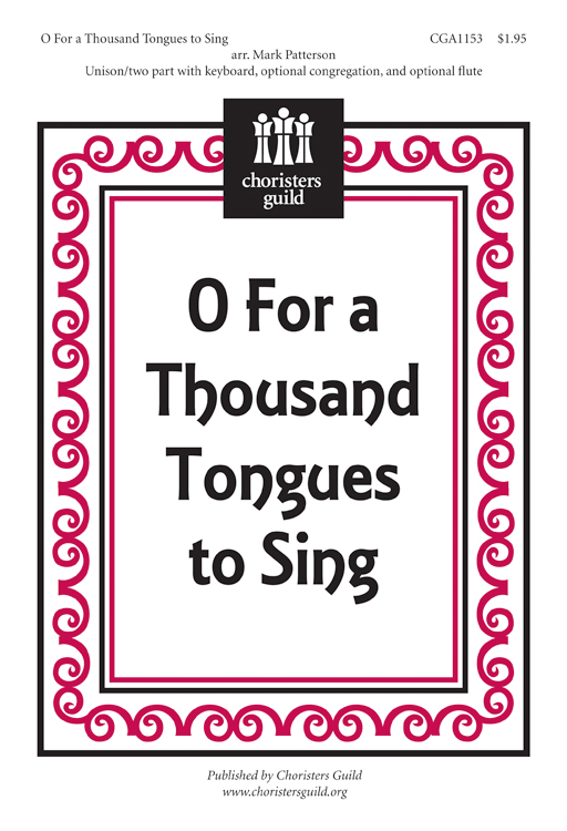 O For a Thousand Tongues to Sing (Accompaniment Track)