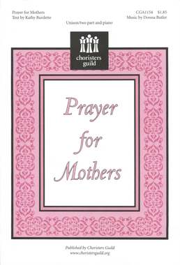Prayer for Mothers (Accompaniment Track)