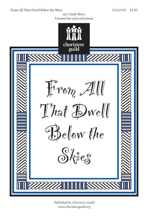 From All That Dwell Below the Skies Accompaniment Track