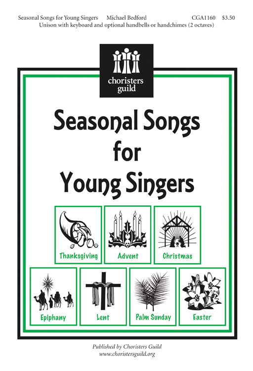 Seasonal Songs for Young Singers (Accompaniment Track)
