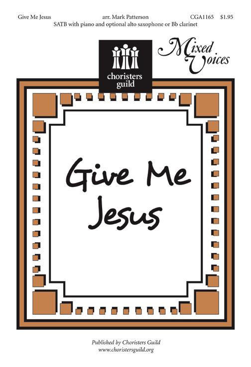Give Me Jesus Accompaniment Track
