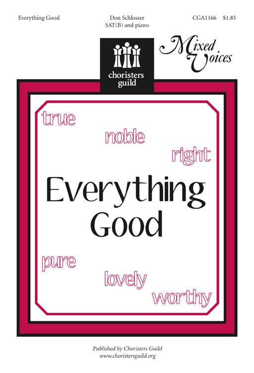 Everything Good Accompaniment Track