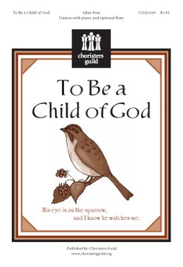 To Be a Child of God (Accompaniment Track)