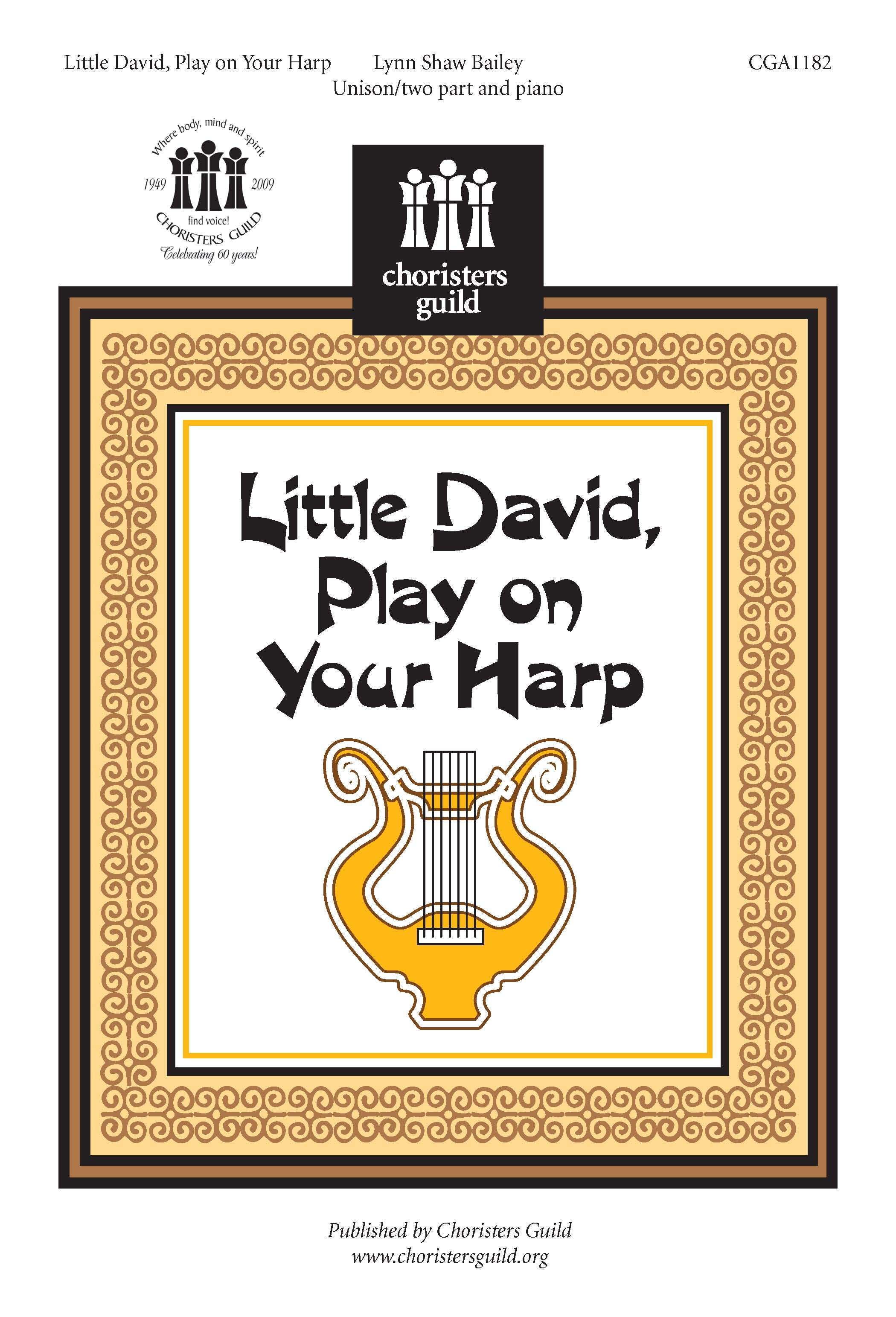 Little David, Play on Your Harp Accompaniment Track