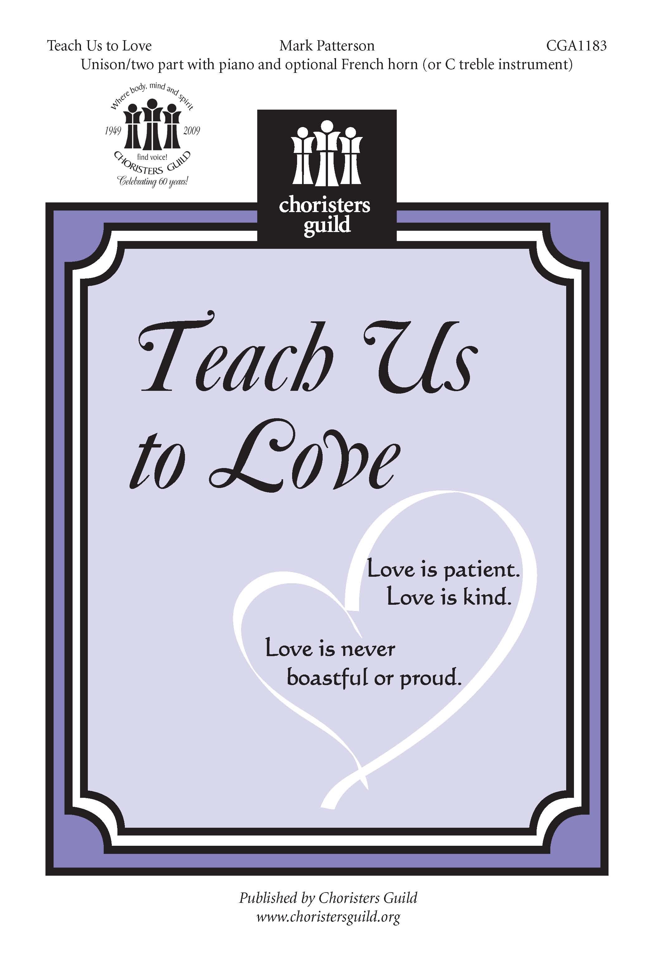 Teach Us to Love Accompaniment Track