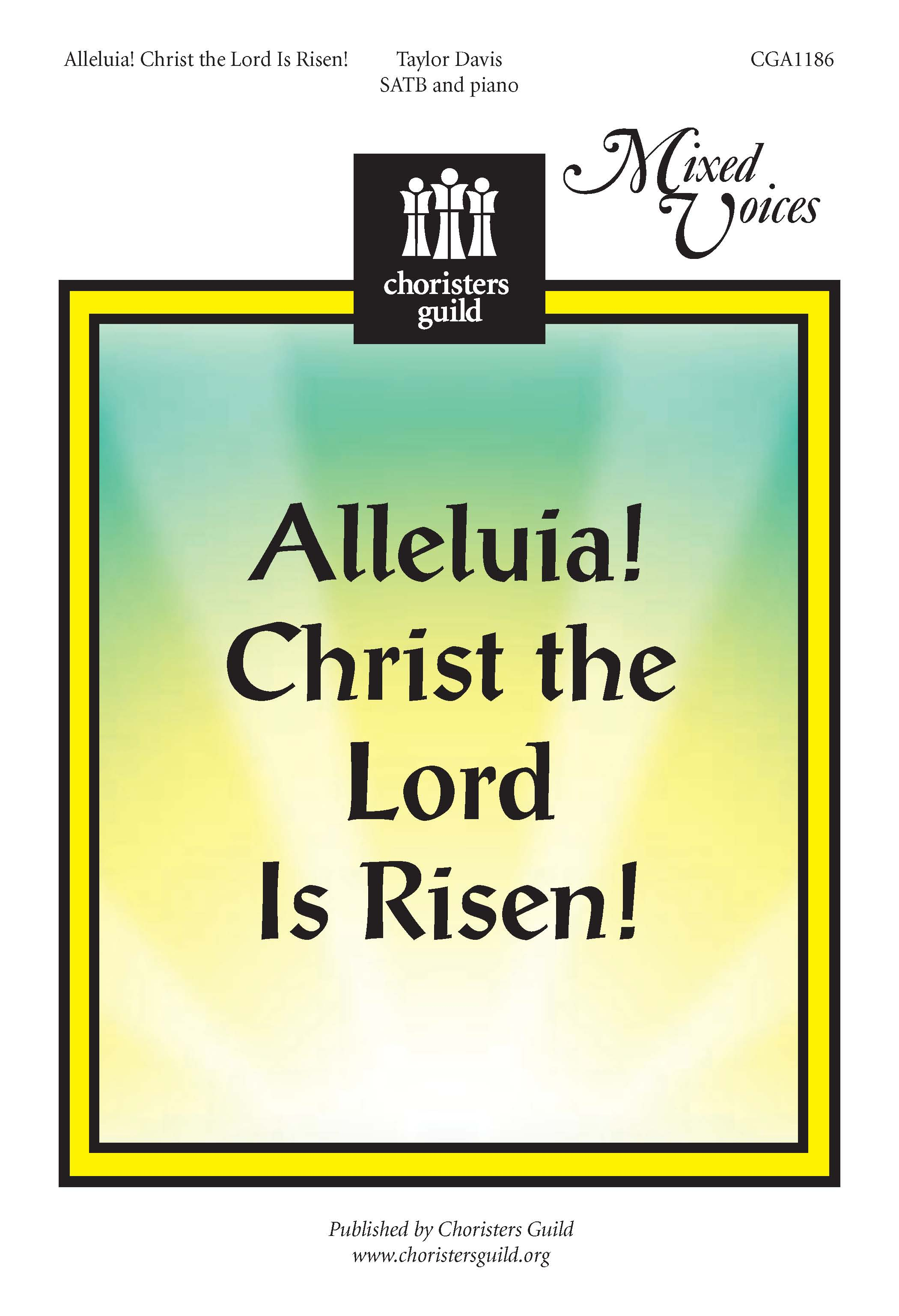Alleluia Christ the Lord is Risen (Accompaniment Track)