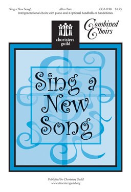 Sing a New Song Accompaniment Track