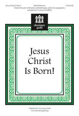 Jesus Christ is Born Accompaniment Track
