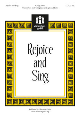 Rejoice and Sing (Accompaniment Track)