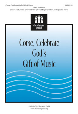 Come, Celebrate God's Gift of Music - Accompaniment Track
