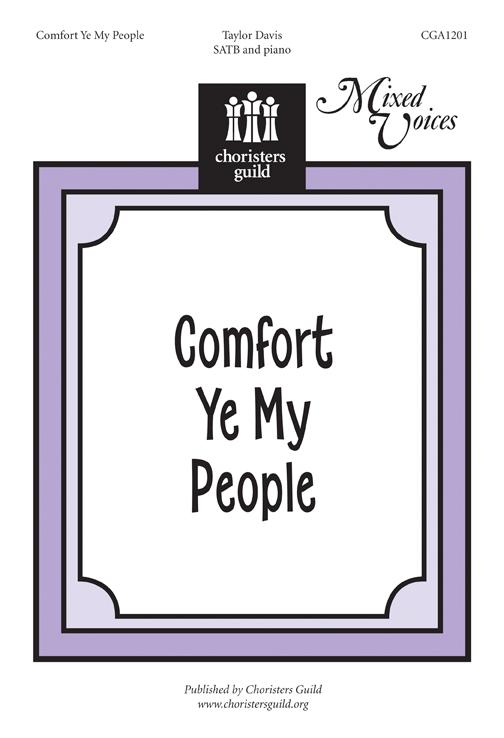 Comfort Ye My People Accompaniment Track