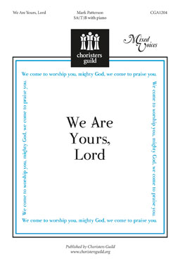 We Are Yours Lord Accompaniment Track