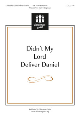 Didn't My Lord Deliver Daniel Accompaniment Track