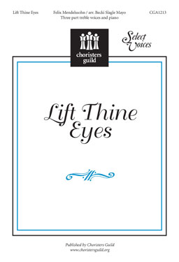Lift Thine Eyes Accompaniment Track