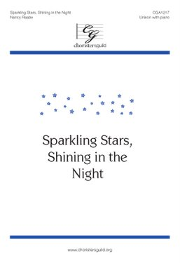 Sparkling Stars, Shining in the Night Accompaniment Track