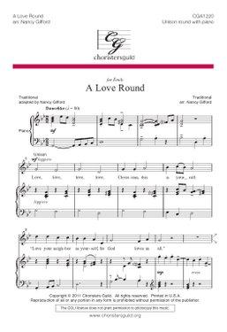 A Love Round Accompaniment Track