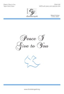 Peace I Give to You Accompaniment Track