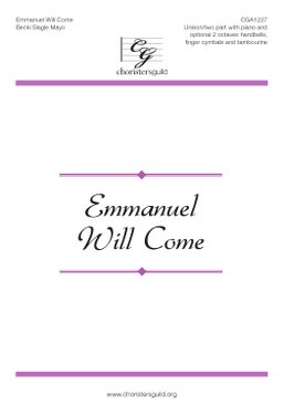 Emmanuel Will Come Accompaniment Track