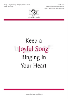 Keep a Joyful Song Ringing in Your Heart Accompaniment Track