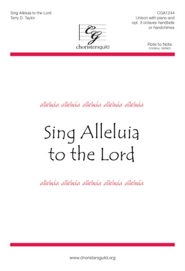 Sing Alleluia to the Lord Accompaniment Track