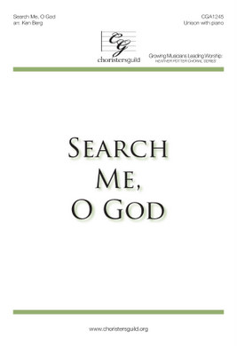 Search Me, O God Accompaniment Track