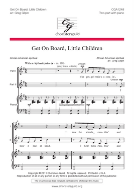 Get on Board, Little Children Accompaniment Track