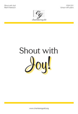 Shout with Joy! Accompaniment Track