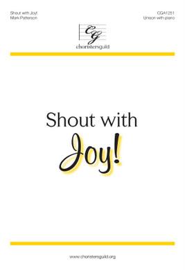 Shout with Joy! Accompaniment Track