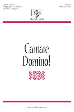 Cantate Domino! Accompaniment Track