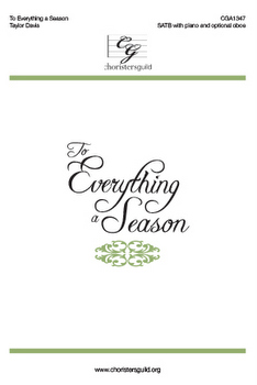 To Everything a Season Accompaniment Track