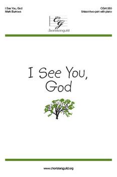 I See You, God (Accompaniment Track)