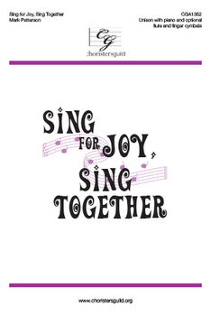 Sing for Joy, Sing Together Accompaniment Track