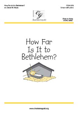 How Far Is It to Bethlehem? Accompaniment Track