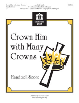 Crown Him with Many Crowns (Handbell Score)