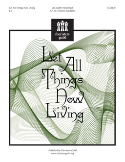 All Things Now Living (Handbell)