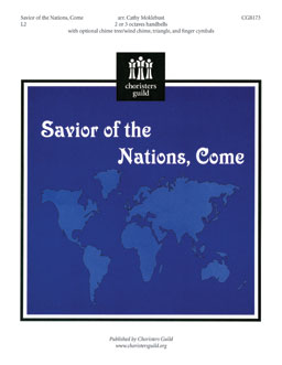 Savior of the Nations, Come (2 or 3 octaves)