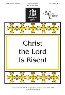 Christ the Lord Is Risen!