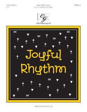 Joyful Rhythm (2 or 3 octaves)