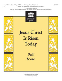 Jesus Christ Is Risen Today (Full Score)