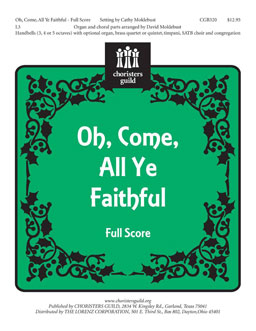 Oh, Come, All Ye Faithful (Full Score)
