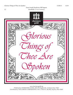 Glorious Things of Thee Are Spoken