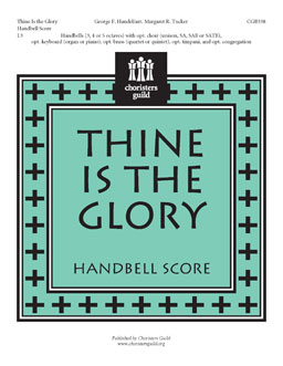Thine Is the Glory (Handbell Score)