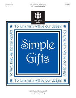 Simple Gifts (2 or 3 octaves)