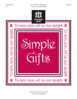 Simple Gifts (3, 4 or 5 octaves)