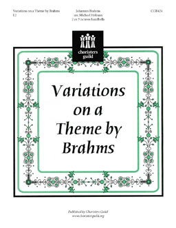Variations on a Theme by Brahms (2 or 3 octaves)