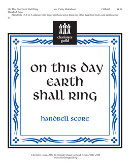 On This Day, Earth Shall Ring (Handbell Score)