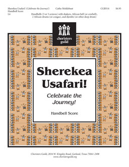 Sherekea Usafari (Celebrate the Journey) (Handbell Score)