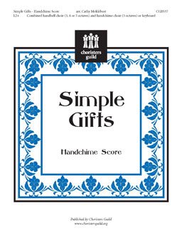 Simple Gifts (Handchime Score)